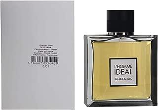 Guerlain L'homme Ideal For Men Eau De Toilette Spray 3.4 Ounce (Plain Box)
