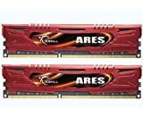 G.Skill Ares Low Profile F3-1600C9D-16GAR DDR3-1600 16GB (2 x 8GB) Desktop Memory
