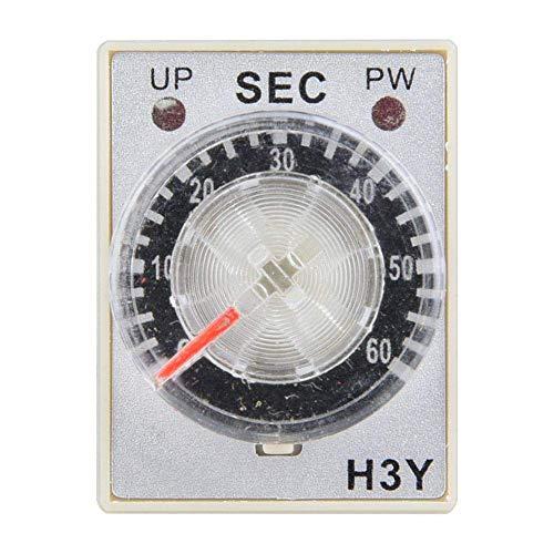 WYZXR Relé de Temporizador, relé de Tiempo de Electricidad Interruptor de Control...
