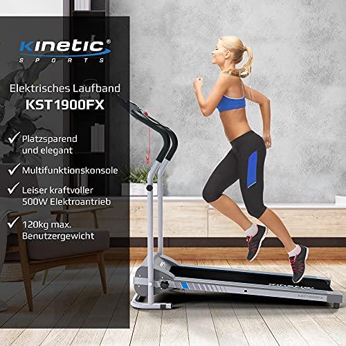 Kinetic Sports KST1900FX Laufband klappbar elektrisch flach 500 Watt - 2