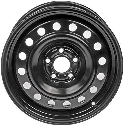 """Dorman 939-275 Steel Wheel for Select Chrysler Models (15x6""""/5x100mm), Black"""
