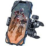 Fahrrad Handyhalterung, DesertWest Handyhalterung Motorrad [2021 Neu Aktualisierte Version] Universal 360° Drehbar Fahrrad Handy Halterung Outdoor für iPhone 13/13Pro/12Pro Max/Samsung S21/S20/HUAWEI