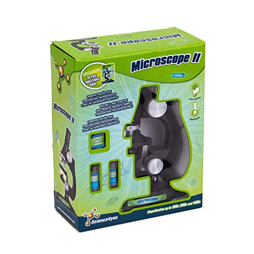 Science4you - Microscopio II - Juguete Científico y Educativo con 9 experimentos