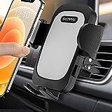 SUTVVU 車載ホルダー 厚いケース対応 スマホホルダー スマホスタンド 携帯ホルダー 車 エアコン吹き出し口用 360度回転/安定性抜群/日本語取扱説明書付き/取り付け簡単/4-7インチ全機種対応 iPhone/SHARP/Samsung/Sony/Huawei/Xiaomi/OPPO/Blackview/UMIDIGI/Oneplus/LGなど