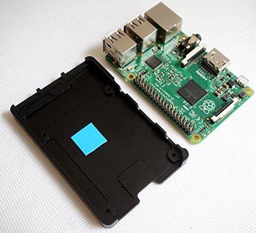 『cocopar Raspberry pi用CNC放熱超薄いアルミニウム合金保護ケース (3B)』の2枚目の画像