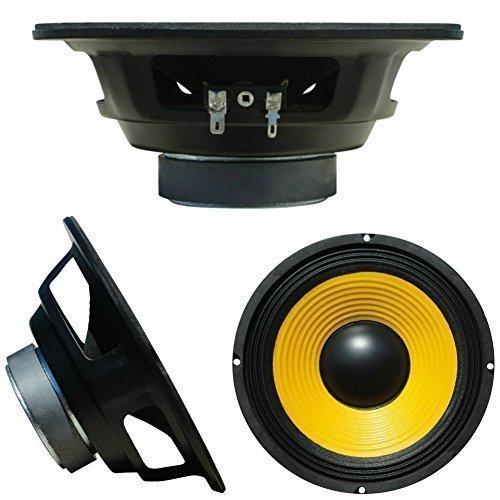 PLUG & SOUND W-088 altoparlante medio basso woofer 20,00 cm 200 mm 8' da 75 watt rms 150 watt max impedenza 8 ohm per casa sensibilità 92 db, 1 pezzo