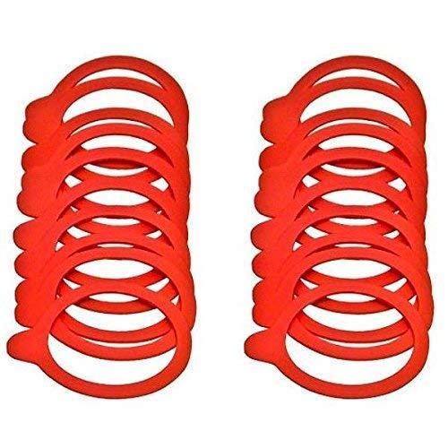 20 Einkochringe / Weckringe / Einmachringe 54x67 mm für Mini-Weckgläser / Rundgläser 60 mm