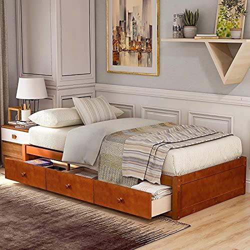 ikea bed met drie lades