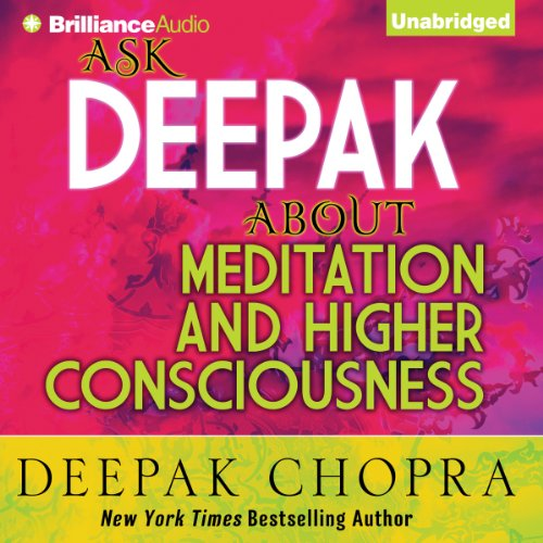『Ask Deepak About Meditation & Higher Consciousness』のカバーアート