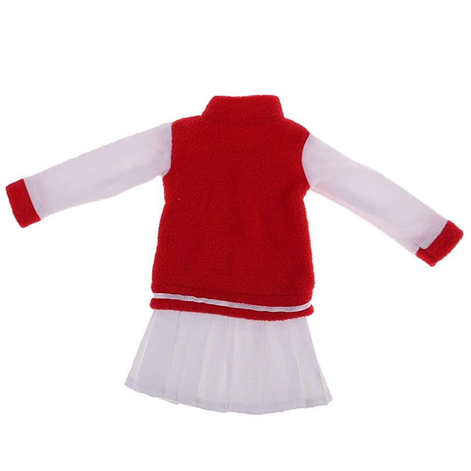 スーツケースネーピア覚醒dailymall 1/3スケール 野球服 長袖コート ワンピース お洋服 60cm人形に適用 BJD衣装 ドールコスチューム
