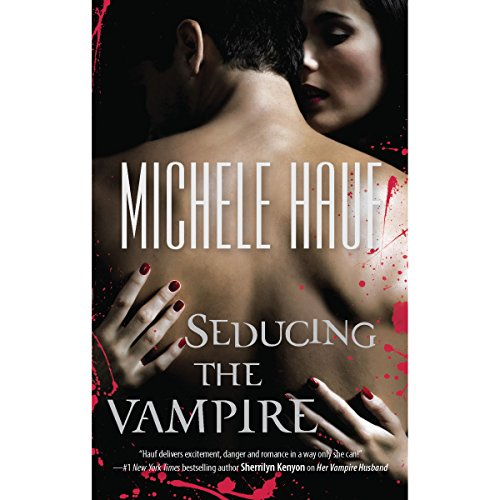 Seducing the Vampire audiobook cover art