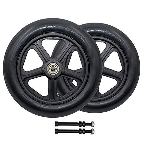 Rollstuhl Reifen Front Caster 8 Zoll / 19 Cm Vollrad Ersatzteil Für Rollatoren, Walkers Reifen 2 Stk