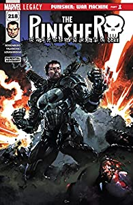 The Punisher (2016-2018) #218