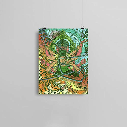 wZUN Anime Lienzo Cartel Pintura Pared Arte decoración Sala de Estar Dormitorio Estudio decoración del hogar Impresiones 57x80cm Sin Marco
