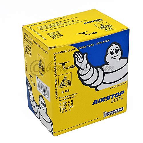 Chambre air moto Michelin 8B3 Valve 1202 (3.50-8 e 4.00-8)