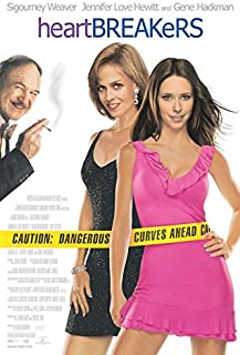 Heartbreakers Sigourney Weaver Jennifer Love Hewitt Rolled Original Double Sided 27x40 Movie Poster 2001