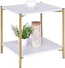 طاولة جانبية من سي واي واي، طاولة طاولة طاولة قهوة مربعة حديثة، طاولة جانبية للأريكة، طاولة جانبية لغرفة المعيشة، غرفة الن...