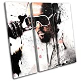 Bold Bloc Design - will.i.am Black Eyed Peas Abstract