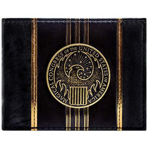 Fantastic Beasts Und wo sie zu finden sind Gold Portemonnaie Geldbörse