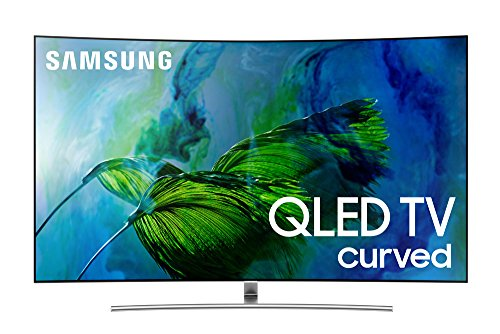 Best Bargain Samsung Electronics QN65Q8C Curved 65-Inch 4K Ultra HD Smart QLED TV (2017 Model)