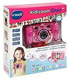 VTech – Kidizoom Duo 5.0 – Rose – Appareil Photo Enfant – Appareil Photo Numérique