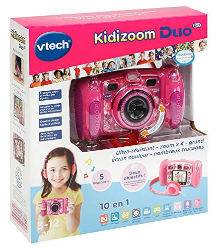 Kidizoom Duo 5.0 Rose - Appareil Photo Numérique