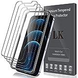 LK 5 Stück Schutzfolie Kompatibel mit iPhone 12 Pro Max Panzerglas, 6.7 Zoll, 9H Härte...