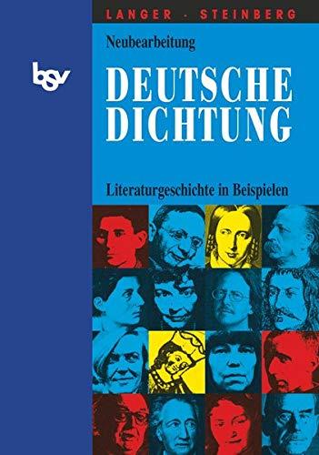 Deutsche Dichtung - Literaturgeschichte in Beispielen: Literaturgeschichte