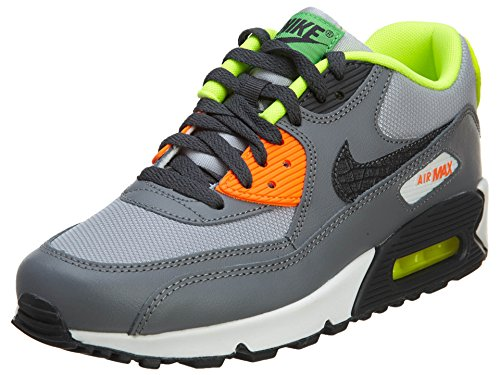 Nike Unisex-Kinder Air Max 90 Krabbelschuhe, grau, 38.5 EU