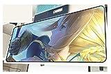Tapis de souris 3D avec une surface unique, une paroi arrière en caoutchouc étanche et un tapis de table antidérapant - Jeanne d'Arc Anime-3_700 * 300 * 3