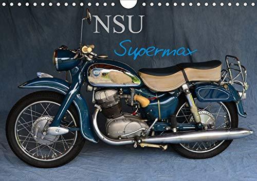 NSU Supermax (Wandkalender 2020 DIN A4 quer): NSU Max war eines der populärsten 250er Motorräder der 1950er (Monatskalender, 14 Seiten ) (CALVENDO Mobilitaet)
