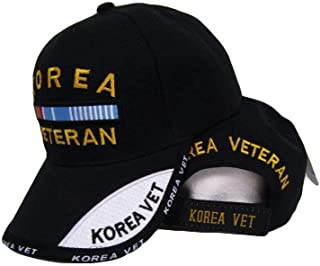 Black Korea Korean War Veteran Shadow Baseball Hat Cap