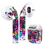 Airpods Skin + Case Skin Sticker Skin Decal for airpod Compatible with AirPods 1st(2016) and 2nd(2019) Stylish Covers for Protection & Customization 012273 Paint Colorful Bird