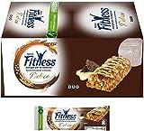 Nestlé Fitness Duo Barretta di Cereali Integali con Cioccolato 24 Pezzi