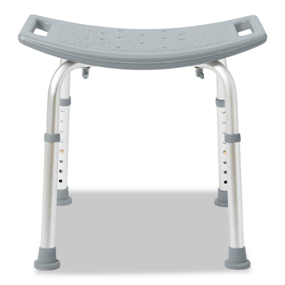 Popular product Medline Bath Bench Without Max 75% OFF Gray Back