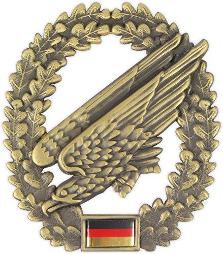 normani BW Barettabzeichen, Fallschirmjäger, Metall Farbe Artillerie