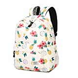 2. School Backpack Teen Girls Bookbag Cute School Bag College Laptop Backpack With USB Charging Port Travel Rucksack For Middle School Womens