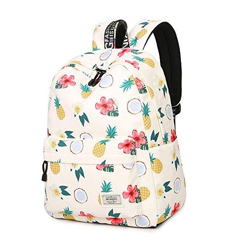 School Backpack Teen Girls Bookbag Cute School Bag College Laptop Backpack With USB Charging Port Travel Rucksack For Middle School Womens