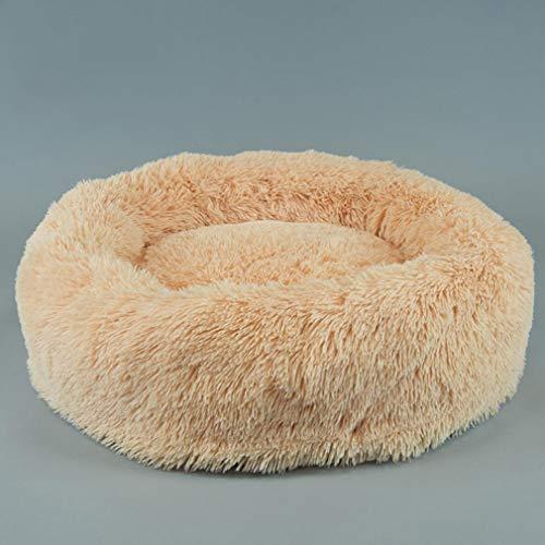 GFQ Weiche, atmungsaktive, Bequeme, warme, tragbare Haustiermatte Waschbares, rutschfestes Haustierkäfigkissen für mittelgroße Hunde und Katzenkisten von Samll-Grey-L