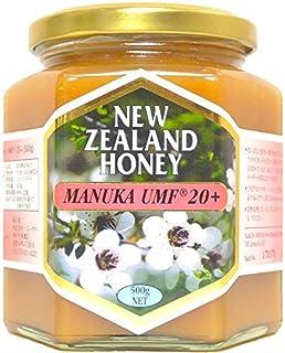 ハニーマザー マヌカハニー (UMF20+) 500g【UMF協会認定】 非加熱・100%純粋天然はちみつ ニュージーランド産