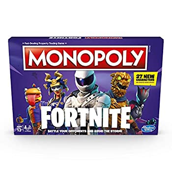 Hasbro Gaming Monopoly  Fortnite Edition Board Game Inspired by Fortnite Video Game Ages 13 and up