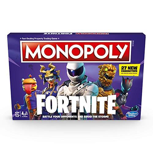 Monopoly Fortnite - Juego de mesa por 2 a 7 jugadores De 13 años en adelante [Edición Inglés]