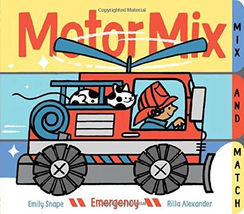 Motor Mix: Emergency: (interactive Children's Books, Transportation Books for Kids)