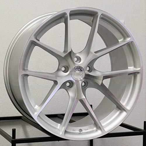 AodHan AFF7 - Gloss Silver Machined Face: 20x9 Wheel, 5x120 Lug Pattern, 72.6 Hub Bore, 30 Offset