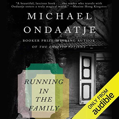 Running in the Family audiobook cover art