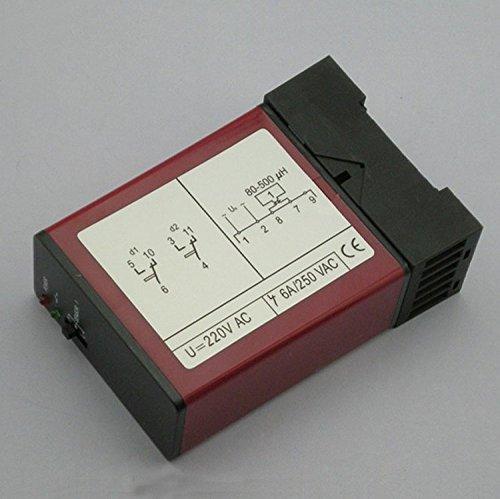 220/110vac 24V/12V AC/DC control de señal de tráfico Loop inductiva vehículo detector