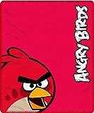 Angry Birds Red Fleece Blanket Brands Panel