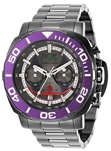 Invicta DC Comics - Joker 35073 Reloj para Hombre Cuarzo - 48mm
