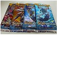 Ogni Booster contiene 10carte Egli Sun & Moon Collection offre 11nuovi pokemon-gx dotato di un nuovo gioco meccanico La collezione Sun & Moon ha anche più di 40carte Pokemon dalla regione alola appena scoperte