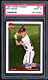 Phil Nevin Rookie Card 1991 Topps Traded #83t PSA 9. rookie card picture